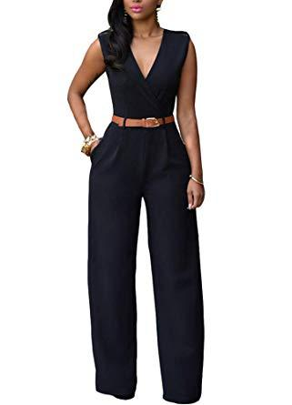Image result for jumpsuit for work wide leg