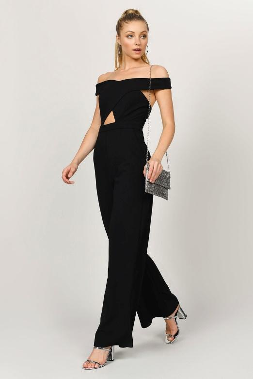 Image result for off shoulder jumpsuit