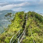 This is what makes haiku stairs, Oahu the stairway to heaven!