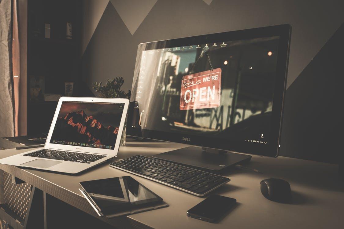 Silver Laptop
