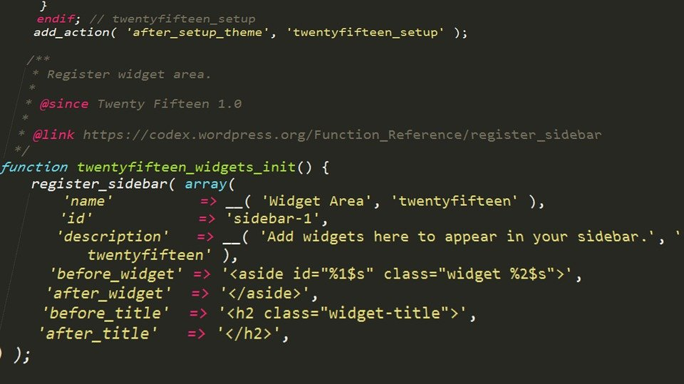Wordpress, Php, Code, Programming, Development
